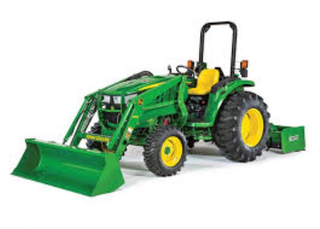 Where to find TRACTOR LOADER BOX JOHN DEERE 4105 in Albertville