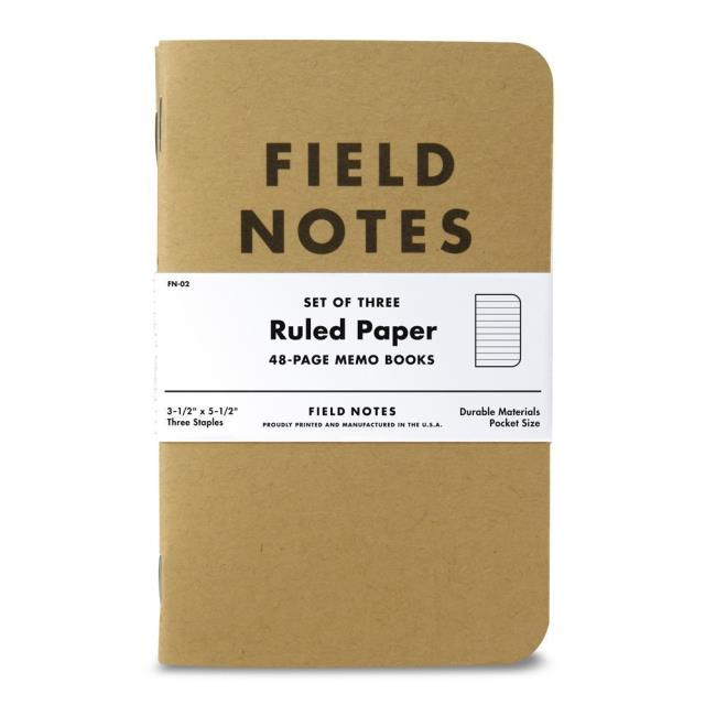 Where to find FIELD NOTES RULED 3 PACK in Albertville