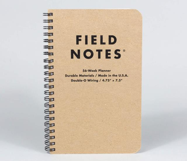 Where to find FIELD NOTES 56-WEEK PLANNER in Albertville