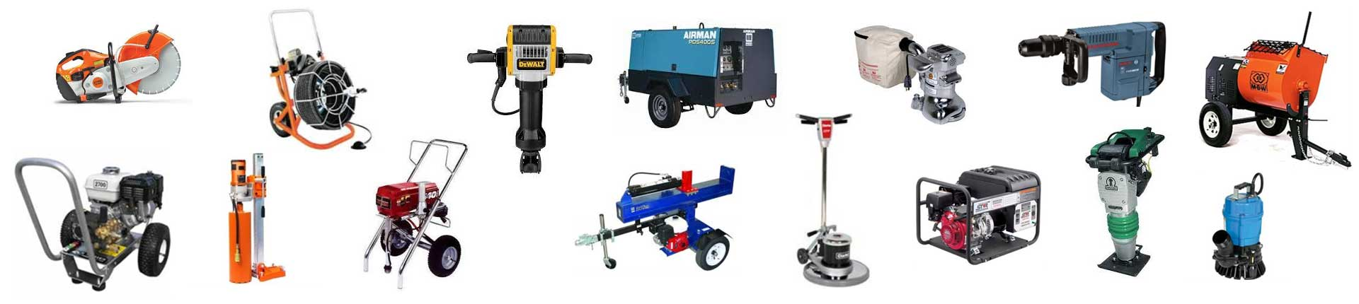 Equipment & tool rentals in Marshall County & Northern Alabama